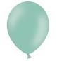 8 ballons Vert Mint Pastel et Blanc