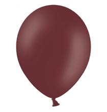 10 ballons latex premium - marron