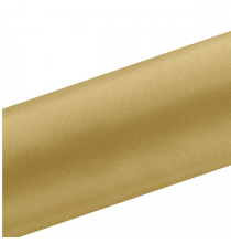 Chemin de table en satin doré premium - 16cm