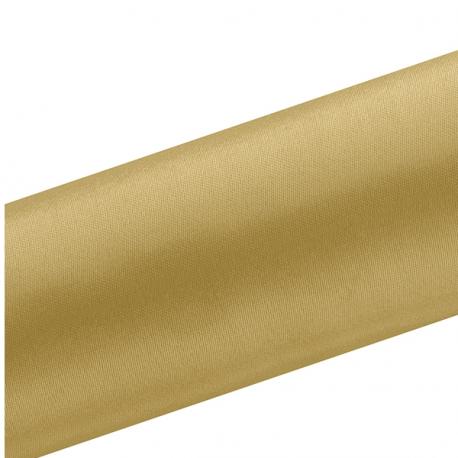 Chemin de table en satin doré premium - 16cm
