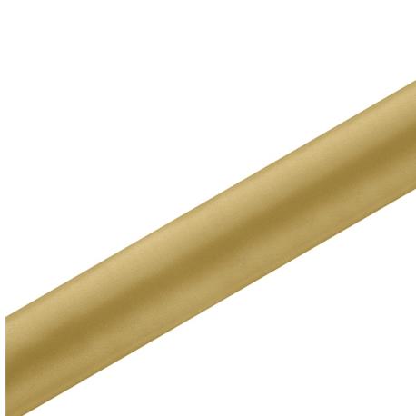 Chemin de table en satin doré premium - 36cm