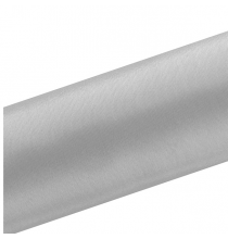 Chemin de table satin gris - rouleau de 9 mètres