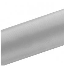 Chemin de table satin gris - rouleau de 9 mètres