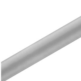 Chemin de table satin gris 36cm - rouleau de 9 mètres