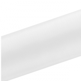Chemin de table en satin blanc premium - 16cm