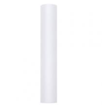 Chemin de table en tulle blanc premium -30cm