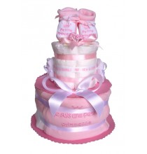 Gâteau de couches Pampers Princesse