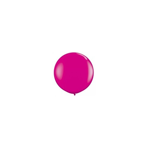 Ballon 40cm Latex Rose FushiaFramboise Fête