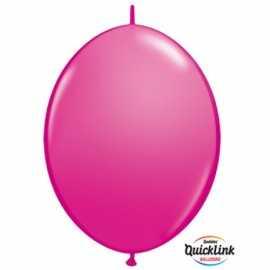 10 Ballons A Queue Pour Arche - Rose Framboise Décoration de fête