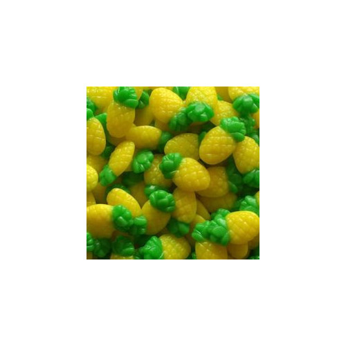 150g Chamallow Ananas Vert et Jaune - Candy Bar Jungle Tropical