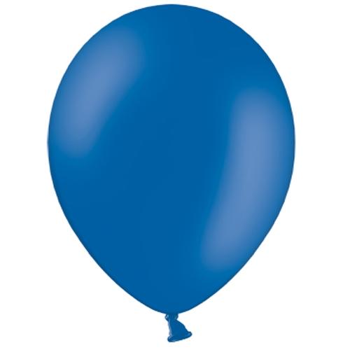 100 Ballons Gonflables Latex Bleu Foncé Premium Décoration Fête