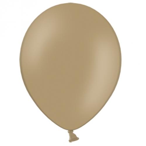 100 Ballons Gonflables Latex Marron clair Premium Décoration Fête