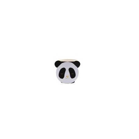 Gobelets Premium Tête de Panda - Doré Noir et Blanc
