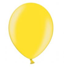 100 Ballons - Maxi Sachet Gonflables Latex Jaune Nacrés Premium Décoration Fête