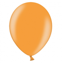 100 Ballons -Maxi Sachet Gonflables Latex Orange Nacrés Premium Décoration Fête