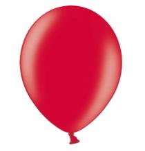 100 Ballons - Maxi sachet - Gonflables Latex Rouge Nacrés Premium Décoration Fête