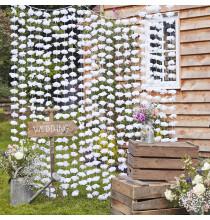 Mur de Fleurs - Rideau Backdrop