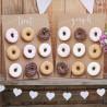 Deux Cadres de présentation Donuts et Gourmandises - Sweet table