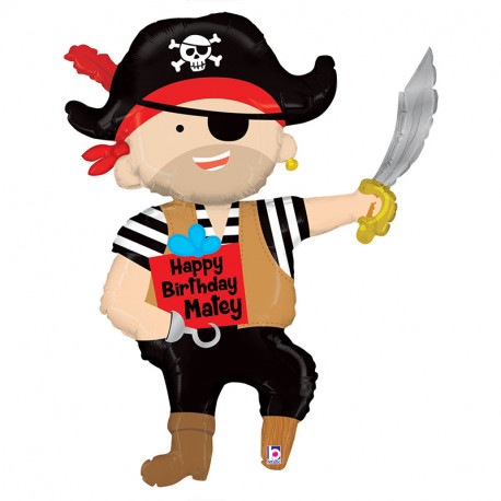 Enorme Ballon Géant Anniversaire Pirate