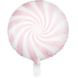 Ballon Rond Candy Rose Pastel - Anniversaire pour Enfants