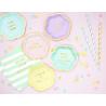 Mini Assiettes Hello Gorgeous Rose Pastel & Doré - Candy Party