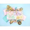 20 Serviettes Rayées Jaune Pastel - Anniversaire pour Enfants