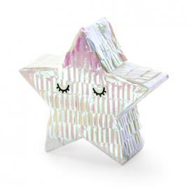 Mini Pinata Etoile Holographique - Anniversaire pour enfants