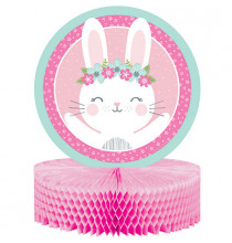 Centre de Table Premier Anniversaire Rose et Mint - Fille