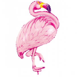 Ballon Flamant Rose Flamingo & Tropiques
