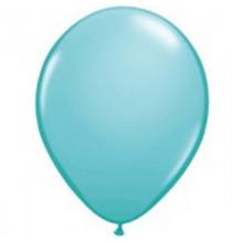 100 Mini Ballons Latex Bleu Caraibes Fête - 5 pouces 12cm