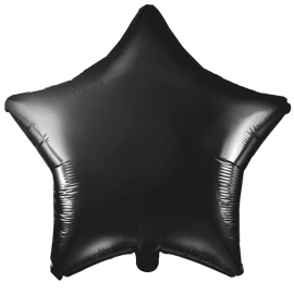 Ballon Etoile en Alu - Noir