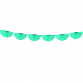 Banderole Eventails Mint - Candy Party