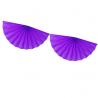 Banderole Eventails Violet - Décoration de fête