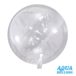 Grand - Ballon Aqua Bulle Ultra Transparent Fête
