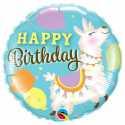 Ballon Alu Lama - Anniversaire pour enfant