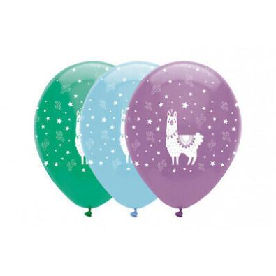 Ballons Latex Lama et Cactus - Anniversaire pour enfant