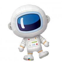 Ballon Alu XXL Forme d'Astronaute - Anniversaire Planètes & Espace