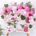 Kit pour Guirlande de Ballons Organiques - Rose & Blanc Décoration
