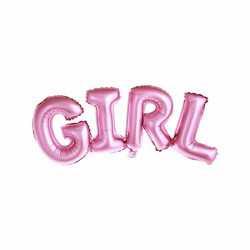 Ballon Lettres Girl - Mot Baby Girl C'est une Fille Baby Shower