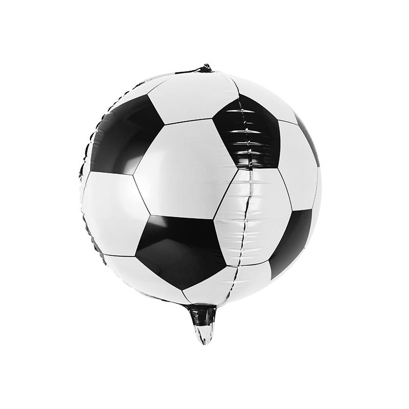 Ballon De Foot Alu En Forme De Ballon De Football Noir Et Blanc