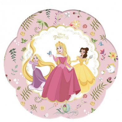Grandes Assiettes Premium Princesses Disney Aurore Belle Raiponce