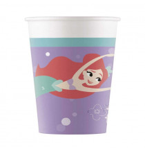 Gobelets en Papier Ariel Petite Sirène - Disney Premium