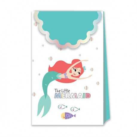 Sachets Boîtes Cadeaux Invités Ariel Petite Sirène - Disney Premium
