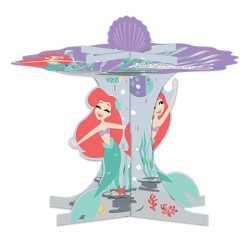 Stand à Gâteaux Cup Cakes Ariel Petite Sirène - Disney Premium