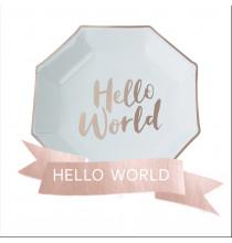 Pack Hello World Baby Shower