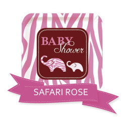 Pack Baby Shower Safari Rose