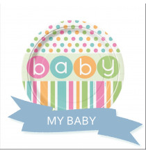 Pack Baby Shower Pastel Baby