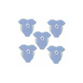 Décorations en Sucre Body Bébé Bleu