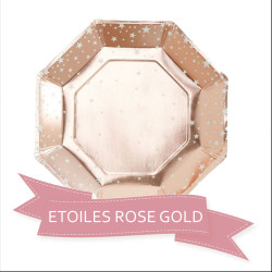 Pack Baby Shower Etoile Rose Gold