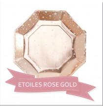 Pack Baby Shower Etoile Rose Gold